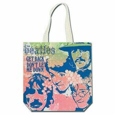 Cartoleria Borsa Larga Shopping Beatles. Get Back Rock Off