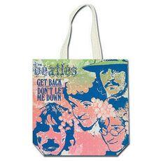 Cartoleria Borsa Larga Shopping Beatles. Get Back Rock Off