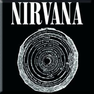 Magnete in metallo Nirvana. Vestibule