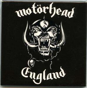 Magnete in metallo Motorhead. England