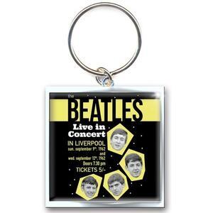 Portachiavi The Beatles. Live in Concert in Metallo