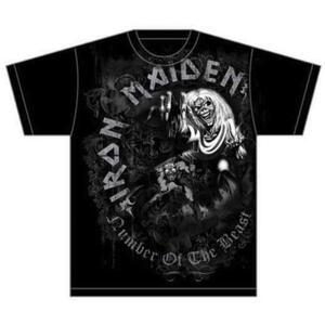 T-Shirt Iron Maiden Men's Tee: Notb Grey Tone