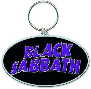 Portachiavi Black Sabbath. 13 Flame in Metallo
