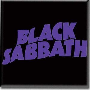 Magnete in metallo Black Sabbath. Wavy Logo - 2