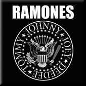 Idee regalo Magnete Ramones. Presidential Seal Rock Off