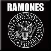 Idee regalo Magnete Ramones. Presidential Seal Rock Off