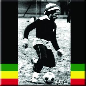Magnete in metallo Bob Marley. Soccer