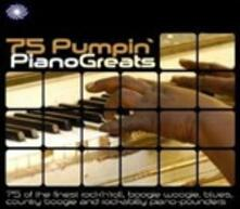 75 Pumpin' Piano Greats - CD Audio