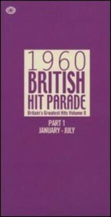 1960 British Hit Parade part 1. January-July - CD Audio