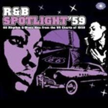 R&B Spotlight '59. 60 Rhythm & Blues Hits from the U.S. Chart of 1959 - CD Audio