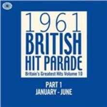 1961 British Hit Parade part 1. January-June - CD Audio