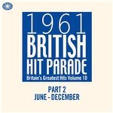 1961 British Hit Parade part 2. June-December - CD Audio
