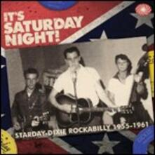 It's Saturday Night. Dixie Rockabilly 1955-1961 - CD Audio