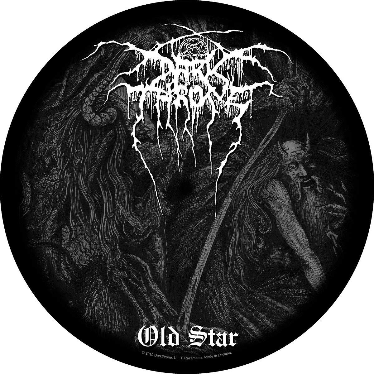 Image of Tappetino Per Giradischi. Darkthrone: Old Star