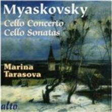 Concerto per violoncello - Sonata per violoncello - CD Audio di Nikolai Yakovlevich Myaskovsky,Marina Tarasova