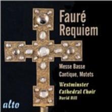 Requiem - CD Audio di Gabriel Fauré,Westminster Cathedral Choir,St. John's College Choir,Christopher Robinson,David Hill