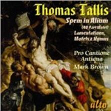 Spem in Alium - CD Audio di Thomas Tallis,Pro Cantione Antiqua,Mark Brown
