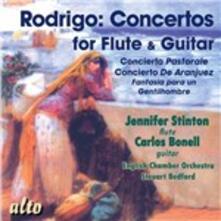 Concerti per flauto e chitarra - CD Audio di Joaquin Rodrigo