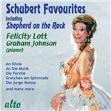Dame Felicity Lott sings favourite Schubert - CD Audio di Franz Schubert,Felicity Lott