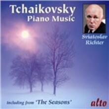 Musica per pianoforte - CD Audio di Pyotr Ilyich Tchaikovsky,Sviatoslav Richter