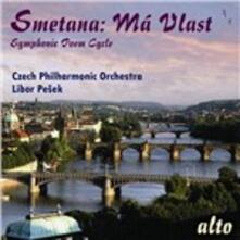 La mia patria (Ma Vlast) - CD Audio di Bedrich Smetana,Libor Pesek,Czech Philharmonic Orchestra