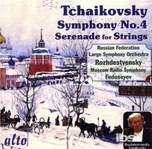 Sinfonia n.4 in F Minor - CD Audio di Pyotr Ilyich Tchaikovsky