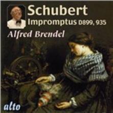 4 Impromptus - Momenti musicali n.3, n.4, n.5, n.6 - CD Audio di Franz Schubert,Alfred Brendel