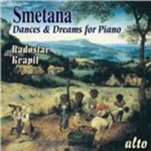 Dances and Dreams for Piano - CD Audio di Bedrich Smetana,Radoslav Kvapil