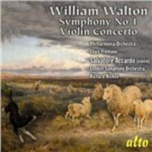Sinfonia n.1 - Concerto per violino - CD Audio di William Walton