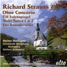 Concerto per oboe - Till Eulenspiegel / Concerto per oboe - CD Audio di Richard Strauss,Witold Lutoslawski,Heinz Holliger