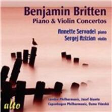 Concerto per pianoforte - Concerto per violino - CD Audio di Benjamin Britten