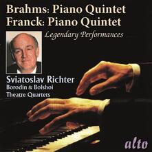 Quintetto per pianoforte op.34 / Quintetto per pianoforte op.14 - CD Audio di Johannes Brahms,Sviatoslav Richter