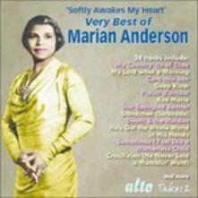 Softly Awakes My Heart - CD Audio di Marian Anderson,Giuseppe Giordani