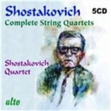 Quartetti per archi completi - CD Audio di Dmitri Shostakovich,Shostakovich Quartet