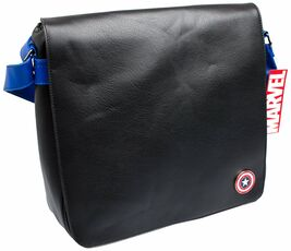 Cartoleria Borsa Marvel. Captain America Record Bag Alpa UK