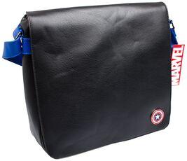 Cartoleria Borsa Marvel. Captain America Record Bag Alpa UK