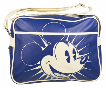 Cartoleria Borsa a tracolla Retro Disney. Mickey Blue Half Moon Bay