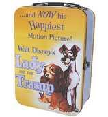 Idee regalo Valigetta Metallo Disney Film Posters. Lilli e il Vagabondo Half Moon Bay