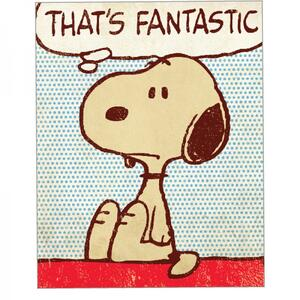 Magnete Metallo Snoopy. That's Fantastic - 2