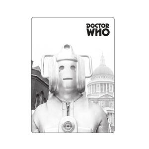 Magnete Doctor Who. Greyscale Cyberman
