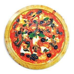 Vassoio Good Enough to Eat. Round Pizza