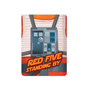 Magnete Star Wars. Red Five in Metallo