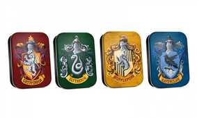 Idee regalo Scatoline in metallo Harry Potter. Set 4 scatoline assortiite Case di Hogwarts Half Moon Bay