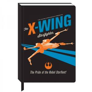 Quaderno A5 Star Wars.xWing Icon