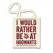 Idee regalo Borsa shopper Harry Potter. I Would Rather Ba at Hogwarts Half Moon Bay