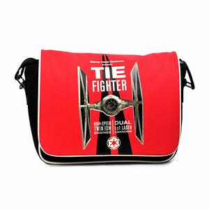Borsa Tracolla Star Wars. Tie Fighter Red