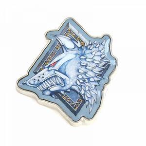 Warhammer. Enamel Badge. Warhammer. Space Wolves