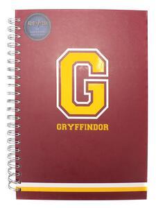 Quaderno A4 Harry Potter. G For Gryffindor