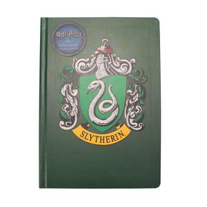 Quaderno Notebook A5 Harry Potter. Slytherin. Serpeverde