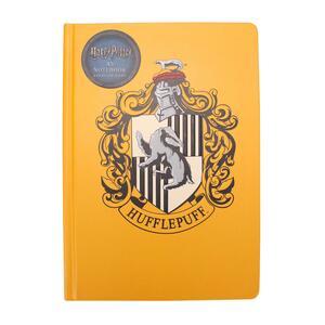 Quaderno Notebook A5 Harry Potter. Hufflepuff. Tassorosso